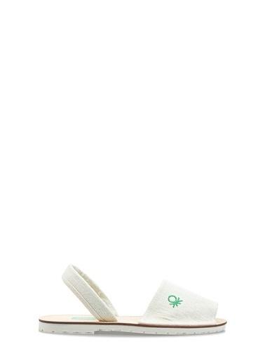 Benetton Bn1009 Kadın Sandalet Bej